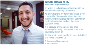 David O. Blancas Program Manager